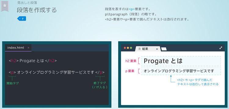 Progate006